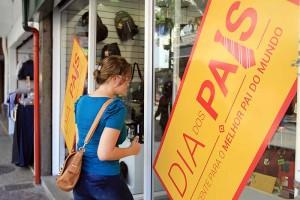 Comércio se aquece com a chegada do Dia dos Pais - Calçadão, Macaé/RJ - Data: 02/08/2013. Foto: Moisés Bruno / Prefeitura de Macaé.