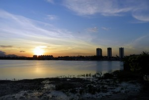 Pôr do Sol Lagoa de Parangaba, Fortaleza, CE