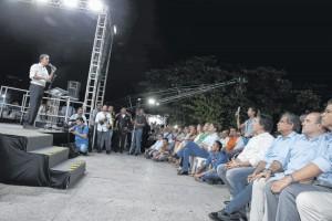 Fortaleza, 30 de julho de 2018, Palestra do governador  do Ceará, Camilo Santana.  - politica - 31PO0655  -  KLEBER A.GONCALVES