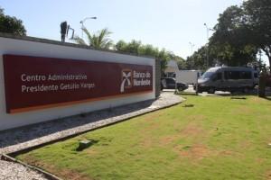 Banco do Nordeste (BNB) - Centro Administrativo presidente Getúlio Vargas, no Passaré Na foto: Fachada do BNB Passaré Foto: Gabriel Gonçalves, em 20/06/2012 *** Local Caption *** Publicada em 01/04/2017 - EC 16